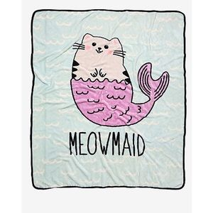 Meowmaid throw - NEW